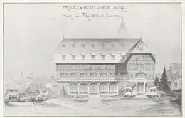Projet D'Hôtel De Montagne Pour Le Falgoux (Cantal) - Non Classés