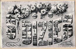 X52024 ⭐ Lisez 04.08.1916 Poilu Blessé Patronyme Grattée Censure ? Mons La Trivalle SAINT DIZIER Souvenir - Saint Dizier