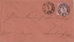 NORDEUTSCHER BUND   1871 LETTRE DE BOCKENHEIM - Norddeutscher Postbezirk