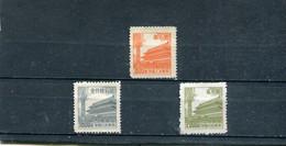 Chine 1954 Yt 1013-1015 * - Unused Stamps