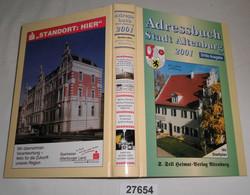 Adressbuch Stadt Altenburg 2001 Dritte Ausgabe - Unclassified