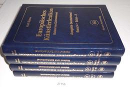 Europäisches Künstlerlexikon: Malerei Und Zeichenkunst. Ausgabe Deutschland, Komplett Band 1 - 4 - Unclassified