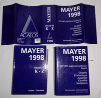 Mayer 1998 - 120 000 Auktionsergebnisse - Internationales Auktionshandbuch. Graphik - Zeichnungen - Aquarelle - Gemälde - Unclassified