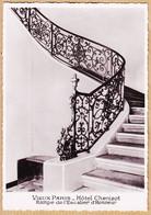 X75107 PARIS IV île SAINT-LOUIS Hotel CHENIZOT Rampe De L' Escalier D' Honneur Fer Forgé 1950s Photo BUFFOTOT - Paris (04)