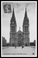 CHERBOURG - L'église Notre Dame Du Voeu - Animée - Edit. ETOILE - Emaillographie - 1909 - Cherbourg