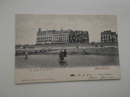 OOSTENDE - MARIAKERKE: La Plage Et Les Hôtels - De Panne