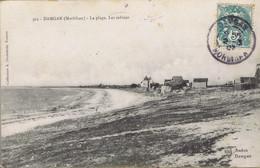 56 - Damgan - Environs De Muzillac (Morbihan) - La Plage - Les Cabines - Damgan