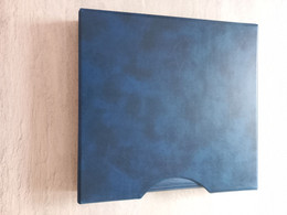 Lindner REGULAR 1104 + Boitier De Protection - Couleur Bleu - Raccoglitori Vuoti