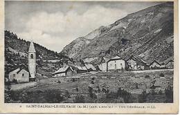 06 - Saint Dalmas Le Selvage - Vue Générale En 1932 - Autres Communes