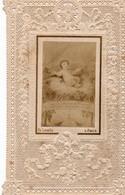 L'enfant Jésus  La Créche    Canivet Mécanique Ancienne  Fine DentelleTB Petite  (voir 2 Scans).année 1898 (14) - Images Religieuses