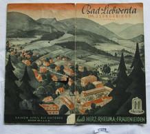 Bad Liebwerda Im Isergebirge Böhmen, Heilt Herz-, Rheuma-, Frauenleiden - Zonder Classificatie