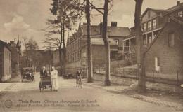 Trois-Ponts - Clinique Chirurgicale St Joseph Et Son Pavillon Ste Thérèse - Avenue De La Salm - Vue Animée - 2 Scans - Trois-Ponts