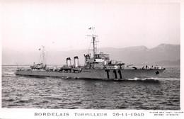 TORPILLEUR  BORDELAIS 26-11-1940 - Guerra
