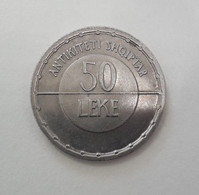 ALBANIA  50 Lekë 2003 Albanian Antiquity AUNC Commemorative COIN LOW  Mintage 200K - Albania