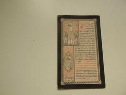 Doodsprentje ( 8221 )  Storie  /  Beyaert   -  Brugge    -  1889 - Avvisi Di Necrologio