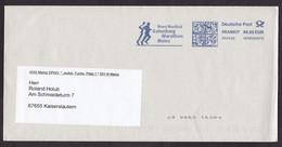 Germany: Cover, 2009, Meter Cancel, Novo Nordisk Gutenberg Marathon Mainz, Running, Sports (traces Of Use) - Briefe U. Dokumente