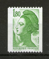 N° 2378b** N° Rouge Au Verso - 1982-90 Liberty Of Gandon