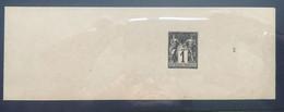 FRANCE 1900 1 Centime Black Newspaper Wrapper Unused - Zeitungsmarken (Streifbänder)
