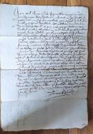 Ardèche Satillieu 1616 - Manuscripten