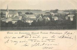 Luxembourg - Differdingen - Gruss Aus Sassenheim ( Sanem ) Postamt Differdingen - 1899 - Differdange