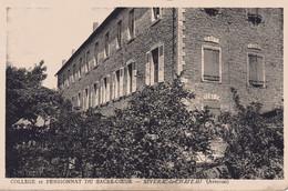 CPA 12  AVEYRON  -  SEVERAC  Le CHÂTEAU - Collège  Et  Pensionnat  Du  Sacrè - Coeur - Altri Comuni