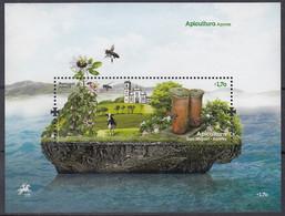 AZOREN  Block 53, Postfrisch **, Bienenzicht, 2013 - Açores