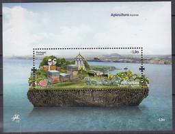 AZOREN  Block 54, Postfrisch **, Bienenzicht, 2013 - Açores