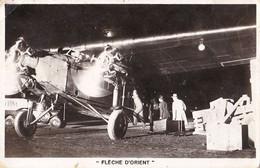 AVIATION CIVILE : CIDNA - FLÈCHE D'ORIENT : PARIS - ISTANBUL - CARTE VRAIE PHOTO / REAL PHOTO POSTCARD ~ 1930 (ah866) - 1919-1938: Fra Le Due Guerre