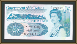 Saint Helena Island 5 Pounds 1999 P-11 (11a) UNC - Saint Helena Island