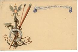 Cartolina Regg. Pontieri E Lagunari Del Genio 1933 Viaggiata - Altri
