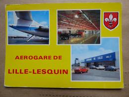 AEROPORT / AIRPORT / FLUGHAFEN    LILLE-LESQUIN   Caravelle Air Inter - Aerodromes