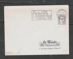 Flamme Dpt 37 : TOURS Grammont (SCOTEM N°  1945 Du 30/12/1968 => 03/04/1967) : Ussé - Château De Légende (type I Codé) - Mechanical Postmarks (Advertisement)