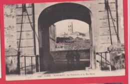 20 -2A--CORSE---BONIFACIO--Le Pont Levis Et La Rue Neuve--animé - Andere Gemeenten