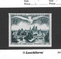 TIMBRE FRANCE POSTE AERIENNE  N 20  NEUF * Trace De Charnière - 1927-1959 Postfris