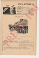 Gravure Presse 1893 Vannes Lavoirs Au Pied Des Remparts  249/29 - Non Classificati