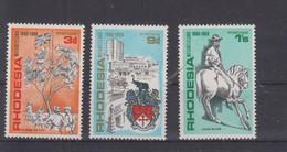 Rhodesien Michel Cat.No. Mnh/** 75/77 - Rhodésie (1964-1980)