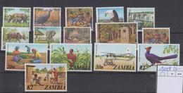 Sambia Michel Cat.No. Mnh/** 141/154 - Zambie (1965-...)