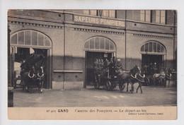 GENT   CASERNE DES POMPIERS - LE DEPART AU FEU 1 - Gent