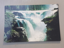 Jasper National Park, Athabasca Falls (gelaufen, Ca. 1998), #H49 - Jasper