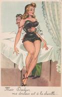 CPSM Pin-up Sexy Glamour Girl Guêpière Médecin Docteur Toubib Humour Illustrateur N° 331 Style Pédro SEGUI  2 Scans - Contemporanea (a Partire Dal 1950)