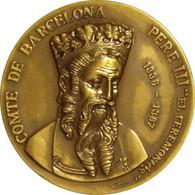 ESPAÑA. MEDALLA CONSEJO SUPERIOR DE RELACIONES PUBLICAS DE ESPAÑA. CON ESTUCHE ORIGINAL. ESPAGNE. SPAIN MEDAL - Royal/Of Nobility