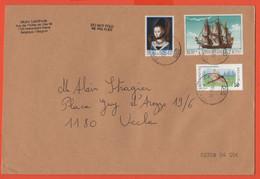 BELGIO - BELGIE - BELGIQUE - 2004 - Petrus Christus + Compagnie D'Ostende + Libellule - Medium Envelope - Viaggiata Da H - Storia Postale