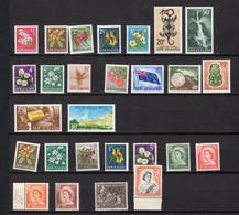 NEW ZEALAND, Entre 1960 Et 1966, Neufs**, - Neufs