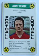 Rare Carte Ancienne 1978 Football Bernard Lacombe Lyon Football France Première Division - Trading Cards
