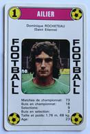 Rare Carte Ancienne 1978 Football Dominique Rocheteau Saint Etienne Football France Première Division - Trading Cards
