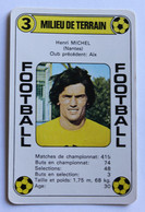 Rare Carte Ancienne 1978 Football Henri MIchel Nantes FCNA Football France Première Division - Trading Cards