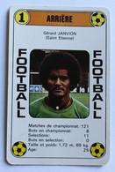 Rare Carte Ancienne 1978 Football Gérard Janvion Saint Etienne Football France Première Division - Trading Cards