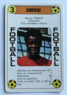 Rare Carte Ancienne 1978 Football Marius TRESOR Marseille OM Football France Première Division - Trading Cards