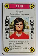 Rare Carte Ancienne 1978 Didier SIX Lens Football France Première Division - Trading Cards