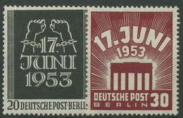 Berlin 1953 Volksaufstand 17. Juni 110/11 Mit Neugummierung (R19299) - Ongebruikt